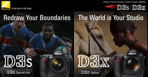 D3s/D3x microsite - from Nikon's website