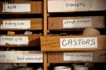 Castor drawer