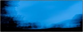 Shropshire at dusk :: blue