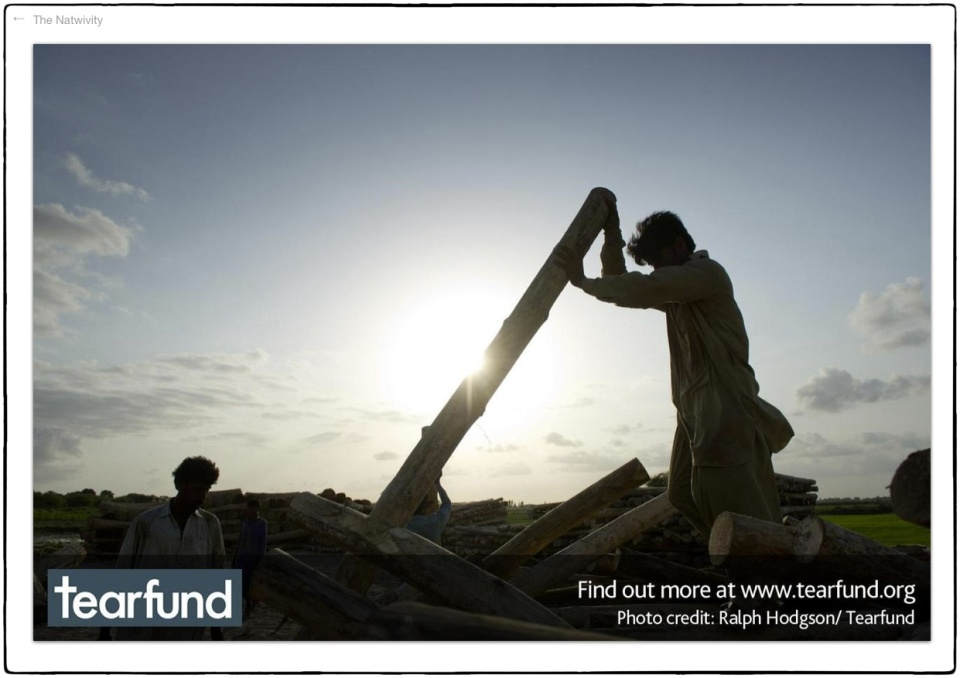 Well, it says it's by Ralph, but we know better... This is wood working in Pakistan :: photo Richard Hanson/Tearfund (oops)