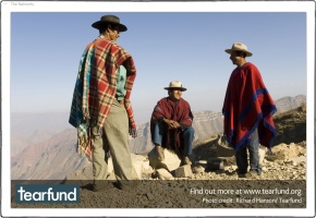 You might recognise this as a variation on the masthead on my 'Look Both Ways' blog - Bolivia again, great to see the variation :: photo copyright Richard Hanson for Tearfund