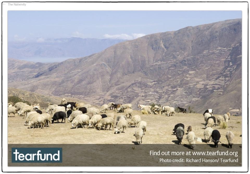 Natwivity 2012 ::  Bolivia, 2005 :: photo Richard Hanson/Tearfund