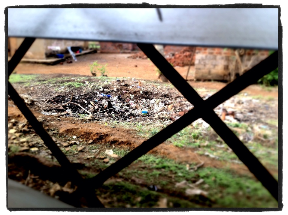 View with room, Congo, October 2012 :: photo Richard Hanson