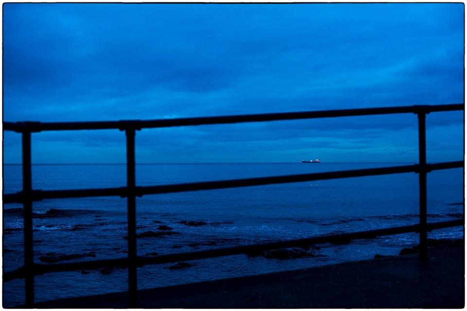 View from St Mary's lighthouse car park, Whitley Bay :: copyright Richard Hanson