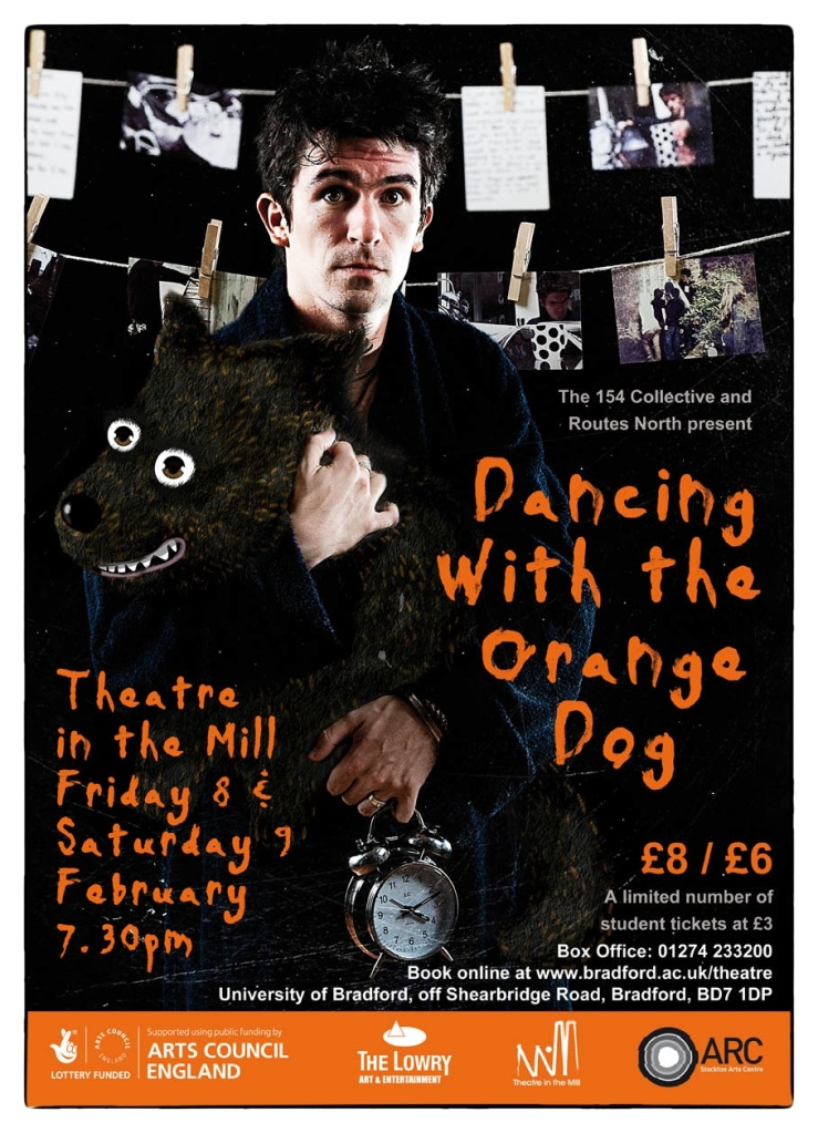 Dancing with the Orange Dog at Theatre in the Mill :: 154 Collective